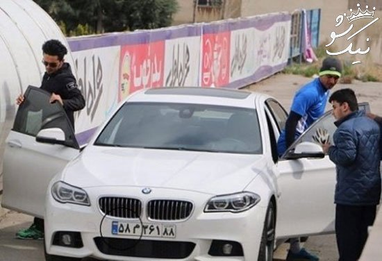 مقایسه خودرو فوتبالیست های ایرانی و خارجی