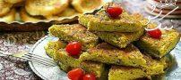 طرز تهیه کوکو لوبیا سبز تبریزی | غذای محلی آذری