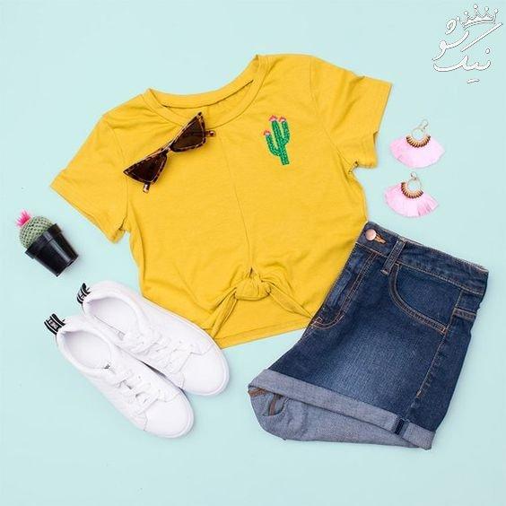 ست های لباس تعطیلات تابستان برای دختر خانم های جوان