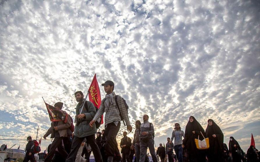 عکس پروفایل اربعین پای پیاده کربلا 1400