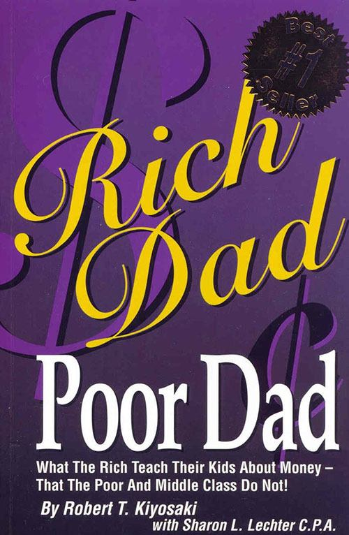 معرفی کتاب : پدر پولدار، پدر بی پول اثر رابرت کیوساکی
