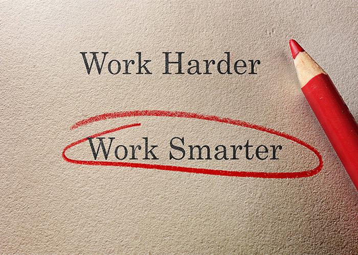 سخت کار کردن را متوقف کنید و هوشمندانه کار کنید