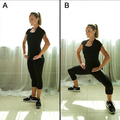 ورزش لاغری ران ها   10 حرکت عالی برای لاغری ران پا