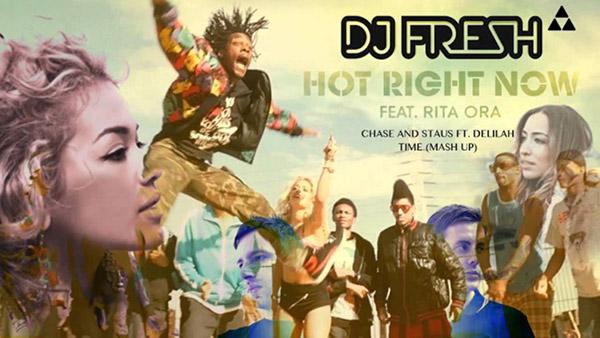 دانلود آهنگ Hot Right Now از DJ Fresh و Rita Ora