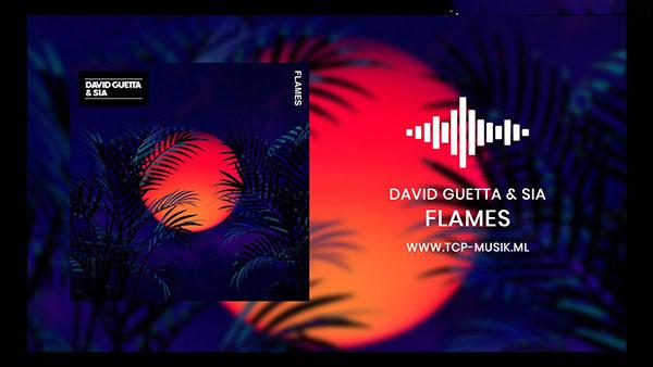 دانلود آهنگ Flames از David Guetta دیوید گوتا و Sia سیا