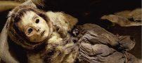 تصاویر جالب مومیایی های خانواده اسکیمو در گرینلند