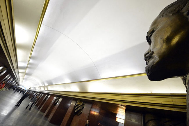 مترو کییف ، باشکوه ترین ایستگاه مترو جهان