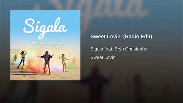 دانلود آهنگ Sweet Lovin از Sigala و Bryn Christopher