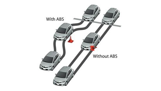رانندگی با چراغ ABS روشن ، درست یا غلط؟