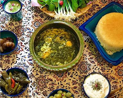 طرز تهیه باقلا قاتق شمالی غذای محلی خوشمزه   دونفره
