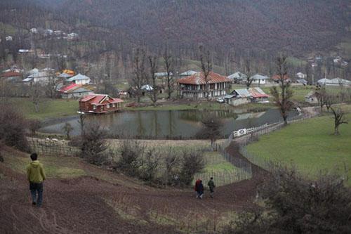 لوکیشن روستای استخرگاه ، اقامت در روستای استخرگاه