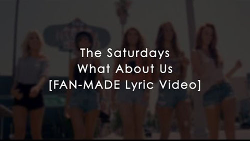 دانلود آهنگ What About Us از The Saturdays