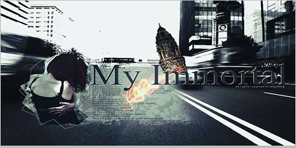 دانلود آهنگ My Immortal از Evanescence