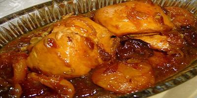 طرز تهیه خورش آلو با مرغ (مسما) شمالی