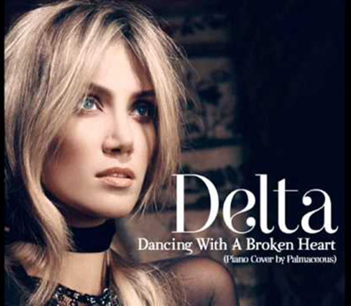 دانلود آهنگ Dancing With A Broken Heart از Delta Goodrem
