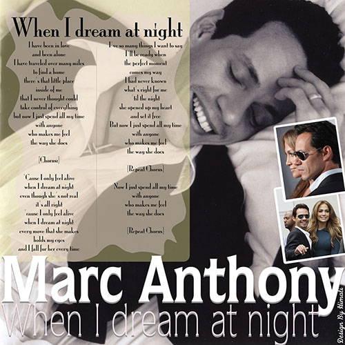 دانلود آهنگ when i dream at night از Marc Anthony