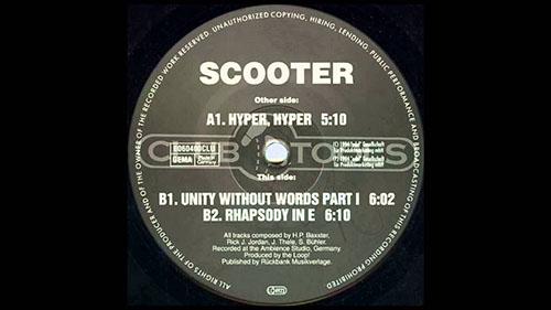 دانلود آهنگ Rhapsody In E از Scooter اسکوتر