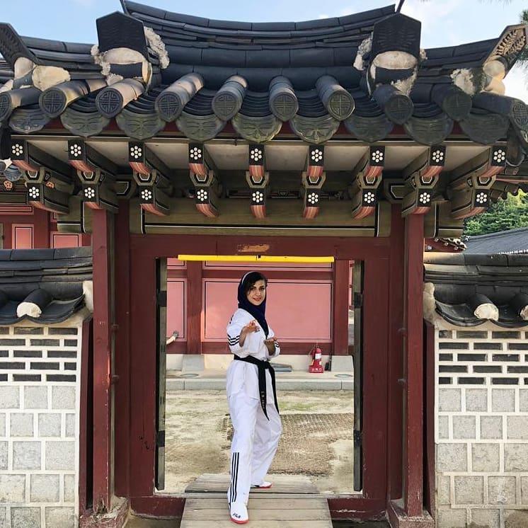 بیوگرافی زهرا جودکی قهرمان جهانی تکواندو