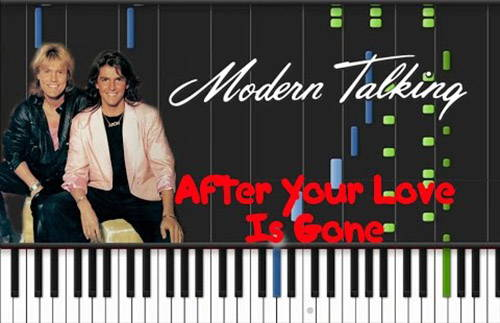 دانلود آهنگ after your love is gone از modern talking