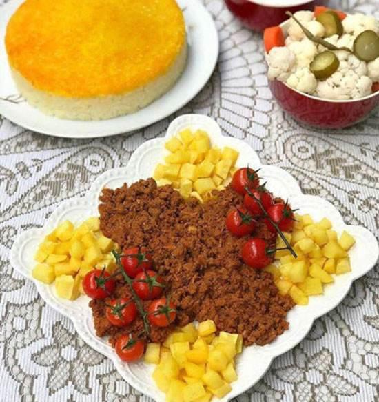 طرز تهیه واویشکا با گوشت ، غذای محلی گیلانی
