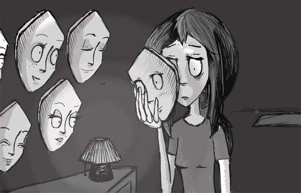 افرادی که در ظاهر شاد هستند اما درون افسرده دارند