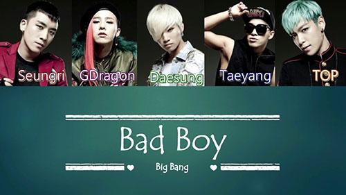 بهترین آهنگ های Big Bang بیگ بنگ (گروه کره ای)