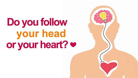 در مواقع حساس زندگی از عقل پیروی کنیم یا قلب؟
