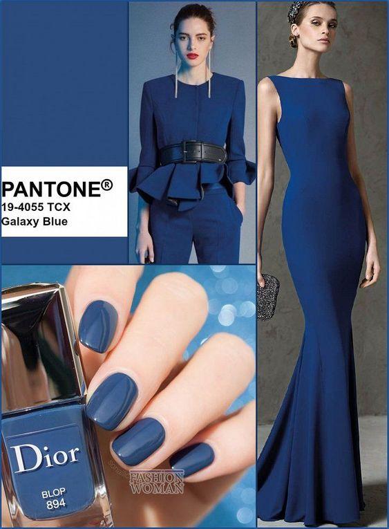 مدل لباس به رنگ مدل سال 2020   آبی کلاسیک