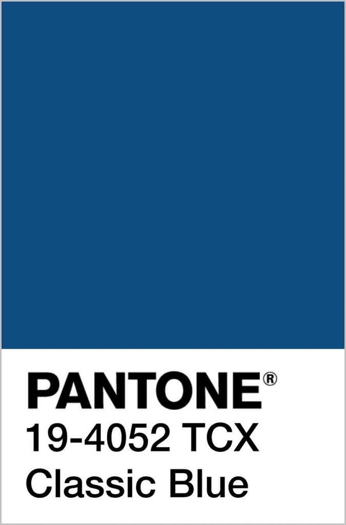 رنگ سال 2020 | آبی کلاسیک توسط پنتون معرفی شد