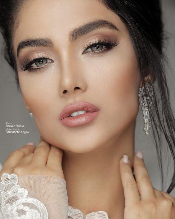 عکس عروس خوشگل جدید | مدل آرایش عروس 2020