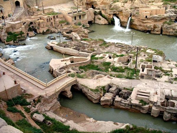 سفر به آبشارهای شوشتر | مسیر دسترسی و امکانات