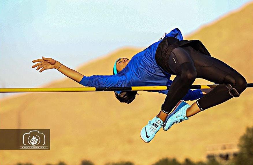 عکسهای سپیده توکلی ورزشکار پرش ارتفاع در اینستاگرام