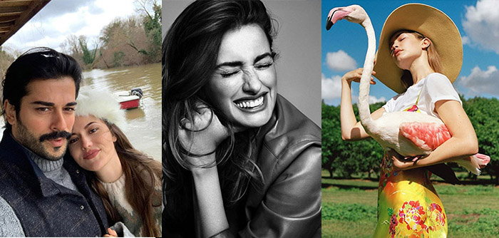 عکسهای جدید سلبریتی های معروف دنیا در اینستاگرام