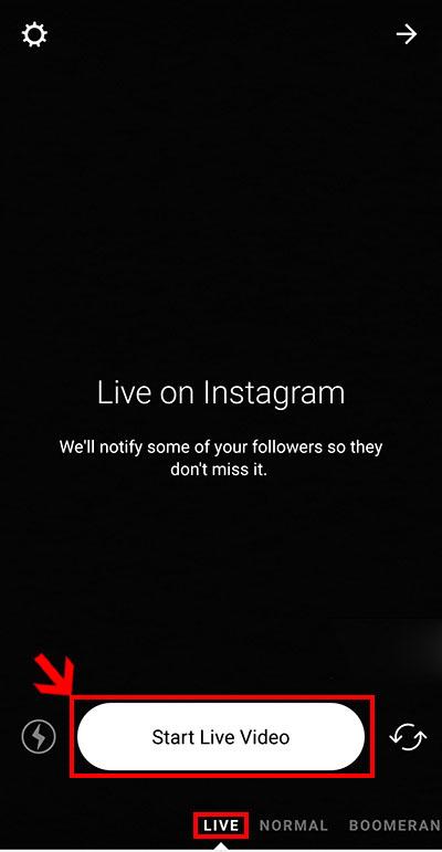 چگونه در اینستاگرام لایو بزاریم؟