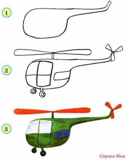 مدل نقاشی برای کودکان | آموزش نقاشی به کودکان دبستانی