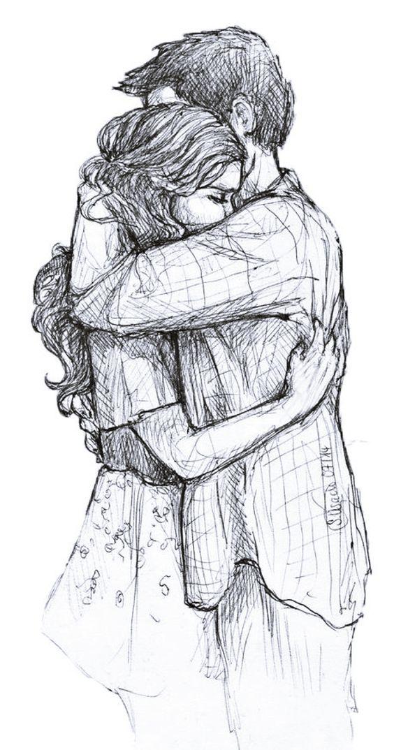 عکس عاشقانه دختر و پسر تو بغل هم