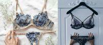 ست لباس زیر زنانه ، لباس زیر فانتزی حریر عروس