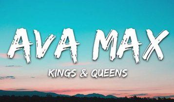 دانلود آهنگ آوا ماکس Ava Max Kings & Queens