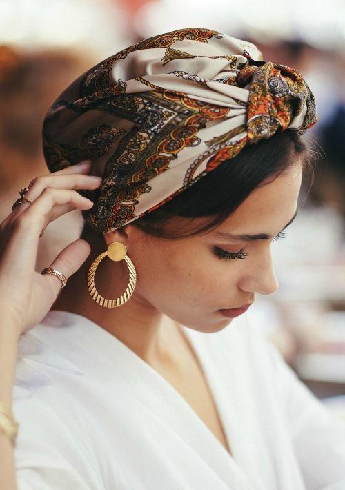 مدل شیک توربان مجلسی ، عروس ، توربان استایل کژوال