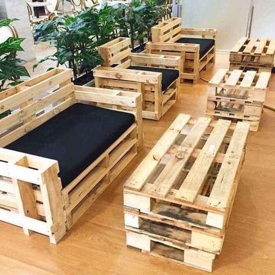 ایده های استفاده از پالت برای دکوراسیون و طراحی داخلی