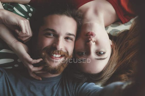 ژست عکس دونفره سلفی عاشقانه دختر پسر