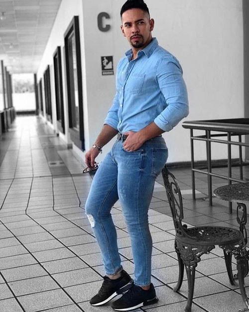 مدل شلوار جین مردانه 2020 ، استریت استایل
