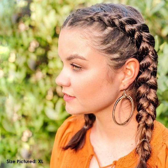 آموزش بافت مو کنار سر توسط خود شخص ،کنار گوش