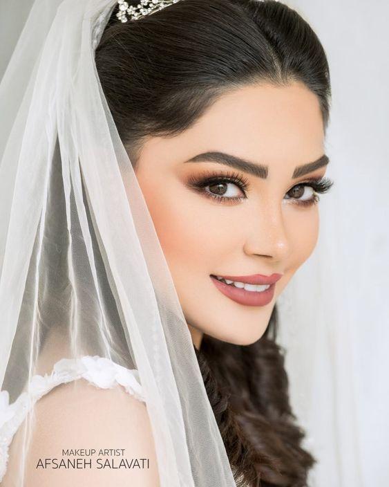 مدل ارایش برای عقد محضری ایرانی