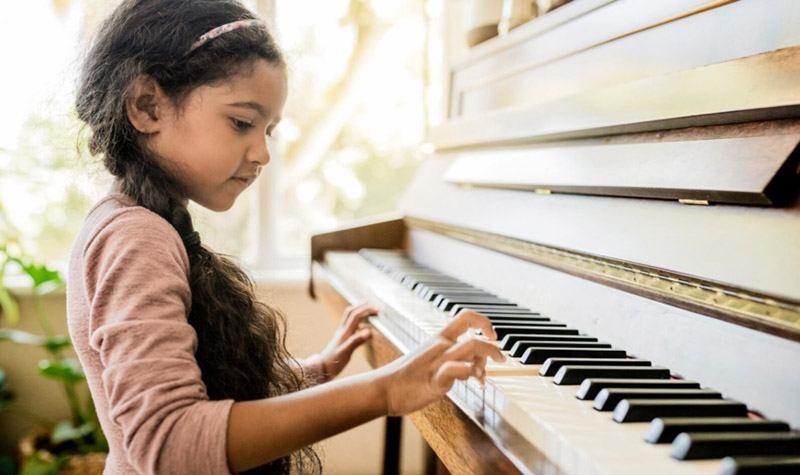 بهترین سن یادگیری موسیقی برای کودکان