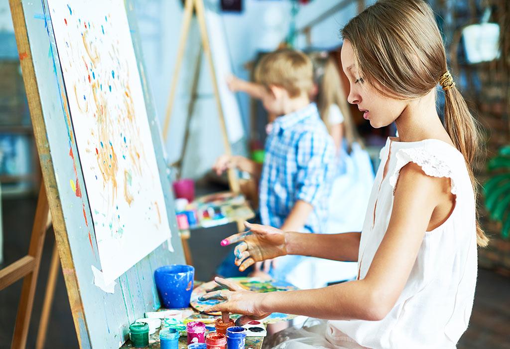 بهترین سن و نحوه آموزش نقاشی به کودکان