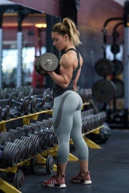 عکس پروفایل باشگاه و دمبل و دختر ورزشکار