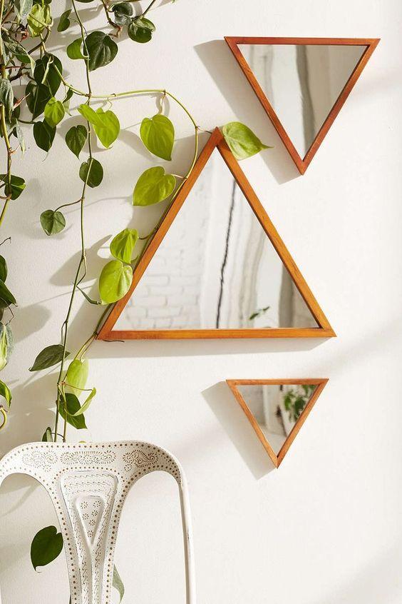 مدل های آینه های دیواری دکوراتیو شیک و لوکس