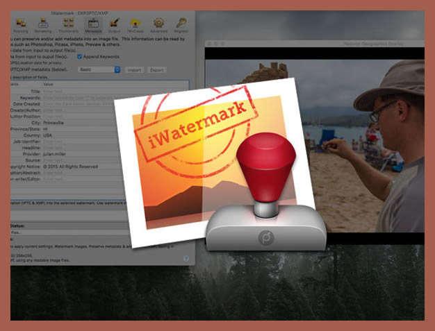 گذاشتن لوگو روی عکس در ios
