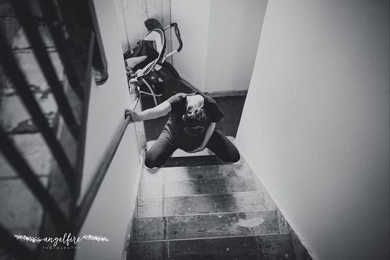 لحظات سخت زایمان و تولد فرزند به روایت عکس